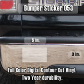 CWY Bumper Sticker Small